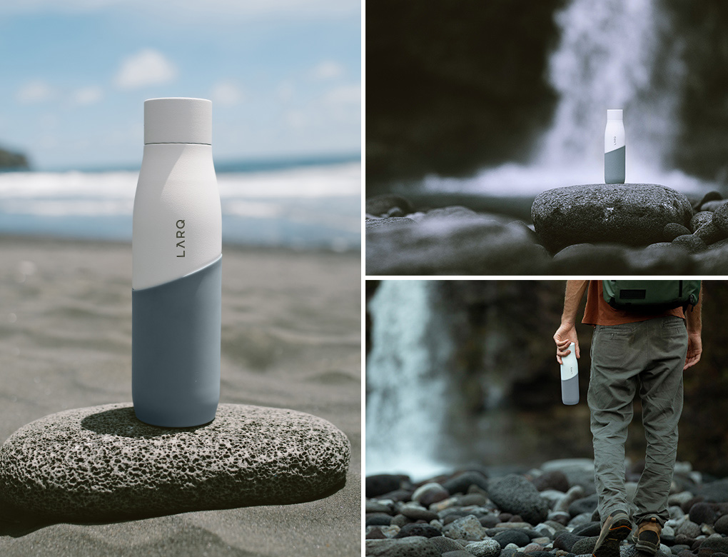 LARQ Bottle Movement Terra Edition: White/Pebble