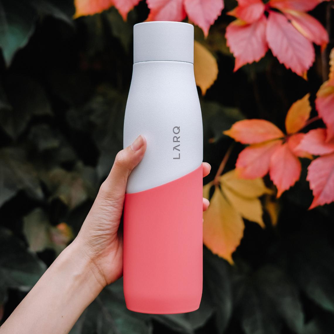 LARQ Bottle Movement PureVis - White / Coral