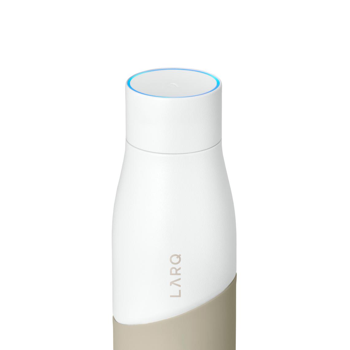 LARQ Bottle Movement PureVis - White / Dune